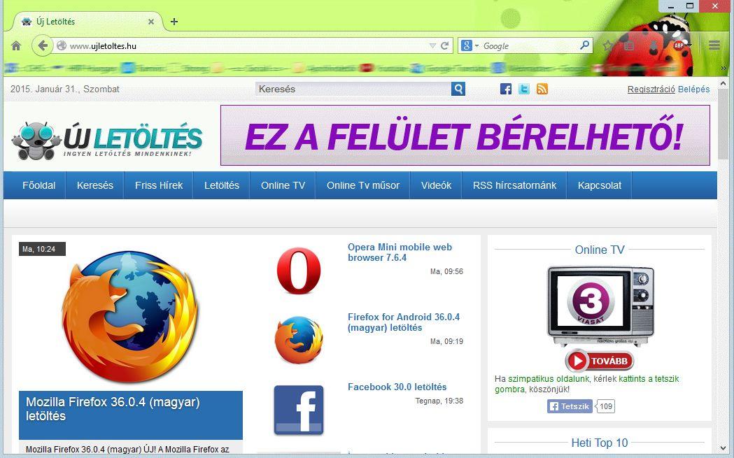 Magyar Firefox letöltés